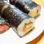 巻き寿司の切り方を綺麗にする裏技でラップやキッチンペーパーを使うスゴ術とは
